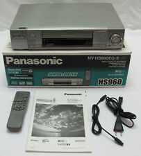 Panasonic NV-HS960 EG-S S-VHS Videorecorder Video Cassette Recorder Digital TBC