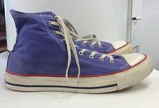 Purple High-Top Converse All Star Trainers Size Uk 8