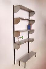 Libreria in ferro anni '50. Modernariato. Design industriale.