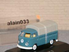 VW T1 BACHÉ BLEU/GRIS SCHUCO 1/87 - 26315