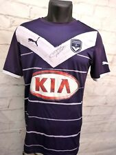 Maillot GIRONDINS DE BORDEAUX FC signé signed LUDOVIC OBRANIAK ultras foot GBFC