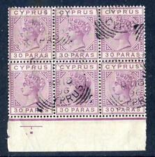 Colony Victoria (1840-1901) British Blocks Stamps