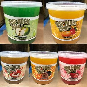 Pop Rock Popping Boba 7lb / 3.2kg Pick Your Own Flavor