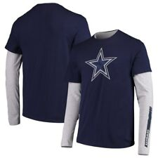 Dallas Cowboys Fresco Long Sleeve & Short Sleeve T-Shirt Combo Set –Men's 2XL