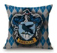 Harry Potter Cushion Throw Pillow Case Ravenclaw Hogwarts Home Decor 38