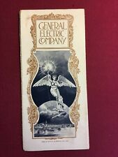 Rare 1893 General Electric Co Promotional Brochure Columbian Exposition Chicago