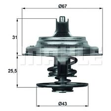 Thermostat Insertion-MAHLE TX 23 79D-qualité MAHLE-véritable uk stock