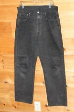 Vintage Men's Black Replay Button Fly Jeans Style 901 Regular Size 32 x 30 ITALY