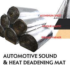 Sound Deadener Heat Shield For Car Firewall Hood Floor Insulation Mat 176