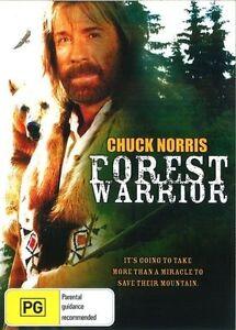 Forest Warrior DVD Chuck Norris New Sealed Australian Release