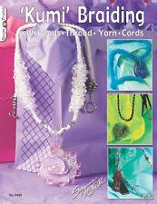 KUMI BRAIDING-Japanese Kumihimo Disk/Wheel-Jewelry Craft Book-Glass Bead/Beading