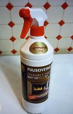 Pulivetro Spray per Pulire i Vetri il Vetro dei Camini delle Stufe Puliscivetro