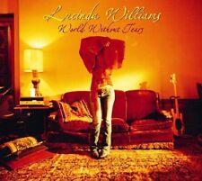 LUCINDA WILLIAMS World without tears 2LP Vinyl + Bonus Lost Highway * RARE * NEW