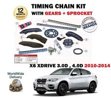 FOR BMW X6 XDRIVE 30D 40D N57D30A N57D30B 2010-2014 NEW TIMING CAM CHAIN KIT