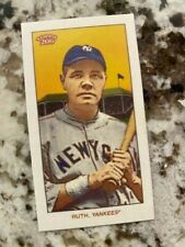 2020 TOPPS 206 SERIES 1 BASE CARD NEW YORK YANKEES BABE RUTH #33