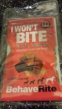 Mikki Training Soft Nylon Dog Muzzle Size 5 extra large + light weight