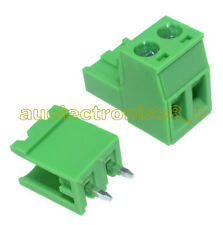 5PCS KF2EDGK KF-2P 2PIN Right Angle Plug-in Terminal Connector 5.08mm Pitch AU