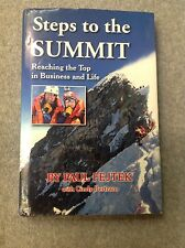 Steps to the Summit, Paul Fejtek, Signed, First Edition HC/DJ, Mountaineering
