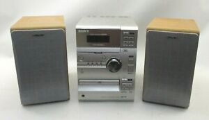 Sony Micro Compact HiFi Stereo System CMT-CP1 - Working