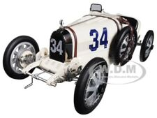 BUGATTI T35 #34 NATIONAL COLOUR PROJECT USA LTD ED 1/18 MODEL BY CMC 100B006