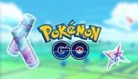 Pokemon Go 100,000 XP + 30,000 STARDUST - SHINY CHANCE! SALE NOW ON!!!