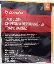 "3M BONDO 813 TACK CLOTH 18""x36"" (45.7cm x 91.4 cm) 1 CLOTH/Pk"