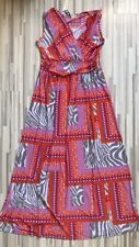 Tommy & Kate Multi Colour Summer Dress Maxi Dress Size 16