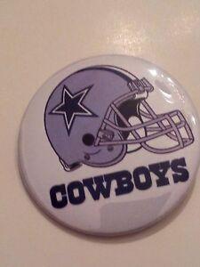 DALLAS COWBOYS-, NFL COLLECTORS BUTTON