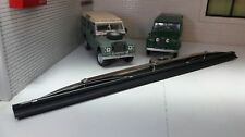 LAND ROVER SERIES 1 2 2a 3 Stainless Steel Cantilever Windscreen Wiper Blades x2