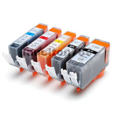 5x INK PGI520 BK CLI521 for CANON MP990 MP640 iP4600 MX860 MP620 MP560 MP550