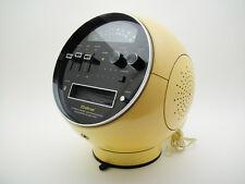 WELTRON Model 2001 RADIO / 8 TRACK TAPE 70's Vintage Design SPACE BALL AGE JAPAN