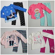 NWT Girls Fall Lot Shirts Leggings Gymboree Baby Gap Old Navy Carter's sz 3t