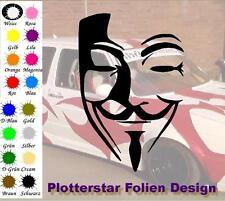 Anonymus máscara JDM Sticker Adhesivo OEM Power Fun like Shocker invierno