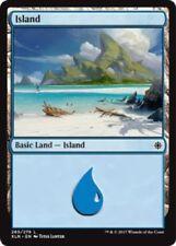 4 x Island (265/279) - Ixalan - Magic the Gathering MTG Basic Land