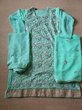 Stitched Plus Size Embroidered Indian Pakistani Salwar Kameez Suit