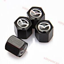 4Pcs Car Wheel Tires Air Valve Caps Tyre Stem Exterior Accessories for Mazda