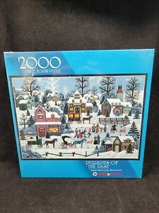 Bits & Piece Pursuits Of The Past 2000 Jigsaw Puzzle Jane Wooster Scott New