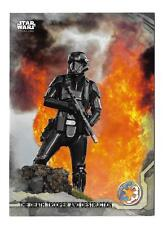 2016 Topps Star Wars Rogue One Series 1 Gray Squad Parallel #23  Serial #78/100