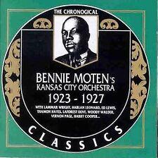 NEW Bennie Moten's Kansas City Orchestra, 1923-1927 (Audio CD)