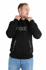 Fox Black/Camo Hoody Größe S M L XL XXL XXXL Karpfenangeln Pullover Sweater NEW