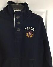 Abercrombie & Fitch Men's Mock Neck Heavy Muscle Sweatshirt Size M EUC