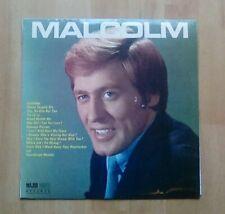 MALCOLM ROBERTS Vinyl LP  Malcolm, 1969, EX