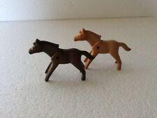 playmobil paard/horse  2 veulens (1e.G)3735/3716/3856