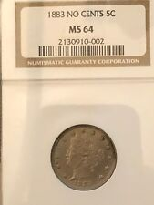 1883 Liberty Nickel NGC MS64 - Racketeer No Cents