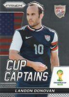 2014 Panini Prizm FIFA World Cup Soccer Captains #18 Landon Donovan