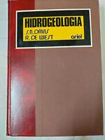 Hidrogeología. Tapa DURA – 1 enero 1971 de R. DE. DAVIS, S. N. -WIEST (Autor)