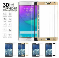 SafeShieldUS Samsung Galaxy Note Edge N9150 3D Tempered Glass Screen Protector