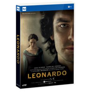 Leonardo (4 Dvd)  [Dvd Nuovo] [PRENOTALO DISPONIBILE DAL 26/05]