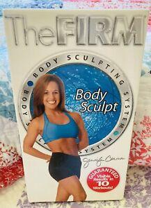 The Firm (2002) Body Sculpt VHS w/Jennifer Carman   *Fitness Workout Exercise*