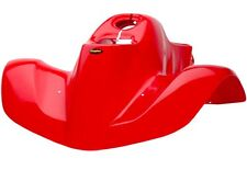 NEW HONDA TRX90 93 - 05 FIGHTING RED PLASTIC FRONT FENDER TRX 90 PLASTICS